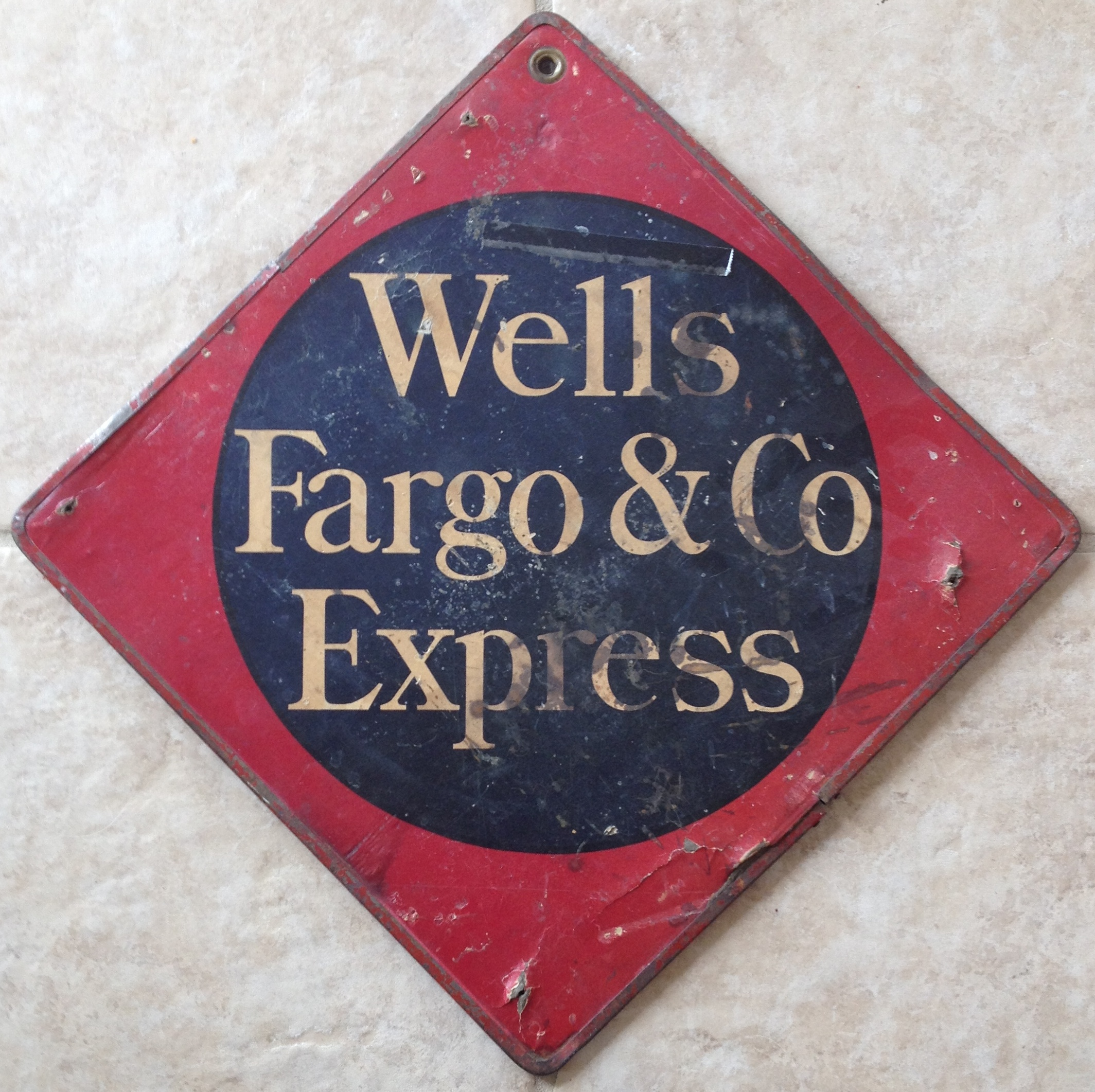 Wells Fargo & Co Express 1912 Call Card