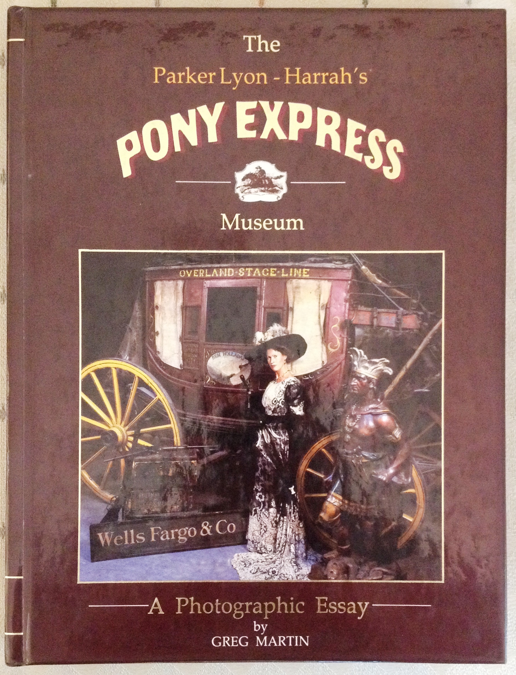 The Parker Lyon book - Pony Express Museum