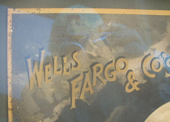 Wells Fargo & Co's Ex Saturn Poster, c1888