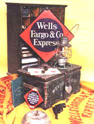 Back cover of book Company Property of Wells Fargo & Co;'s Express 1852 - 1918