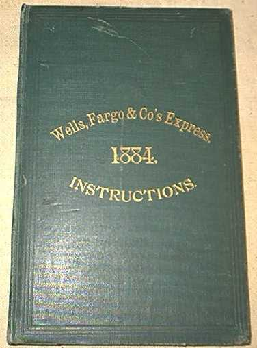 Wells Fargo Book of Instructions