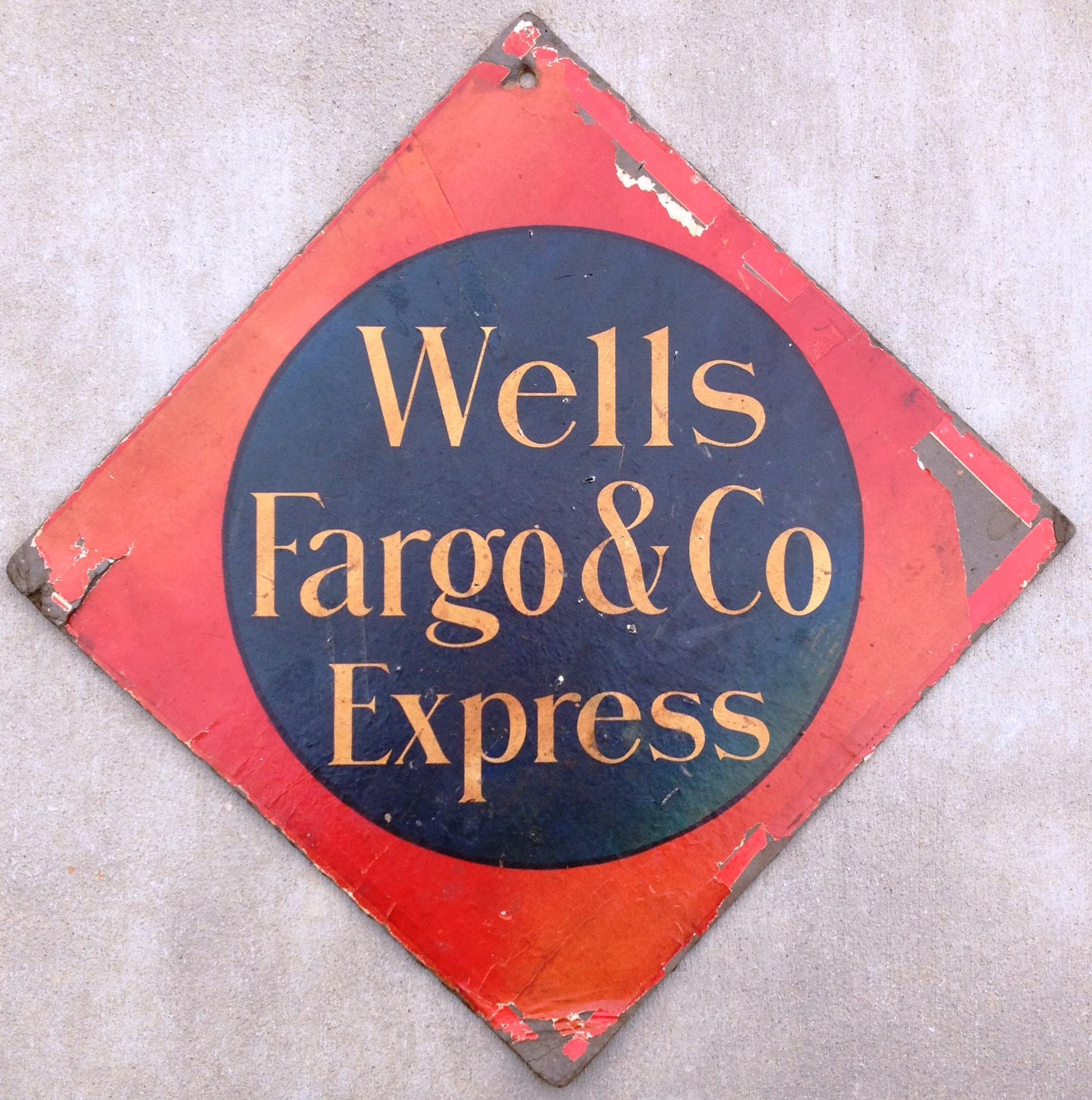 Wells Fargo & Co Express 1911 Call Card