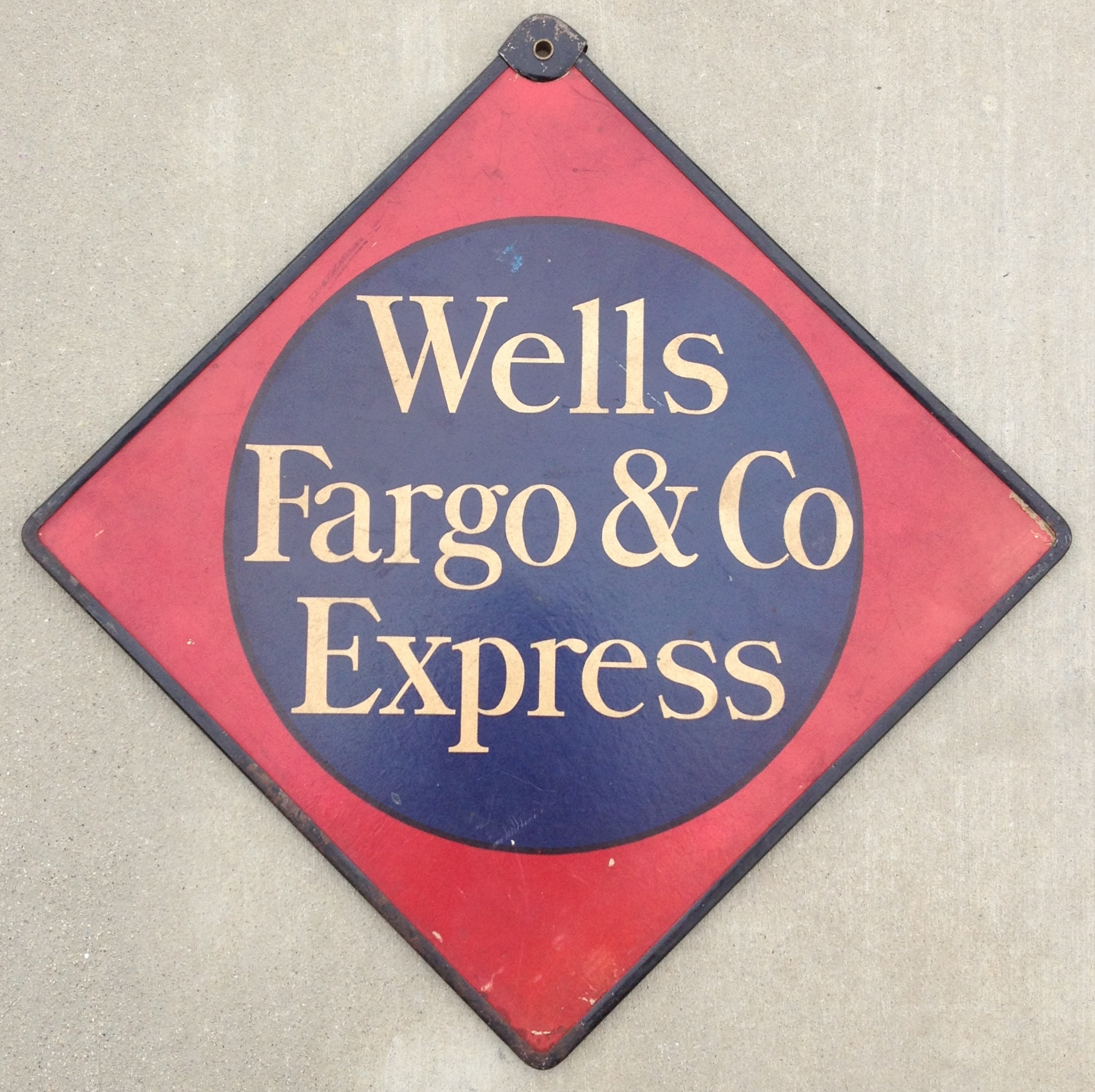 Wells Fargo & Co Express 1913 Call Card